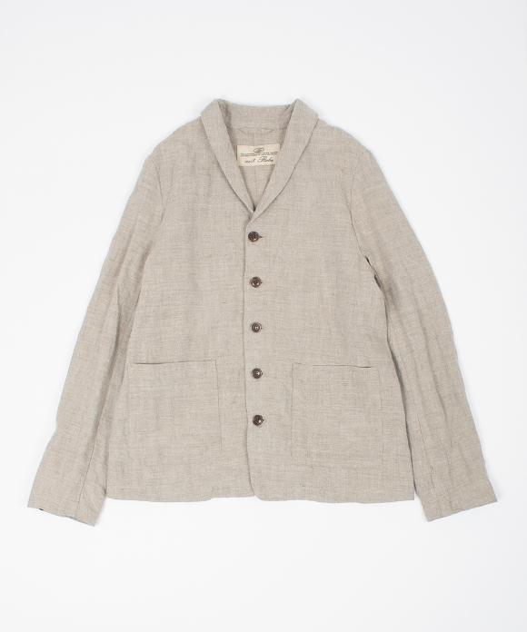 リネントップジャケット