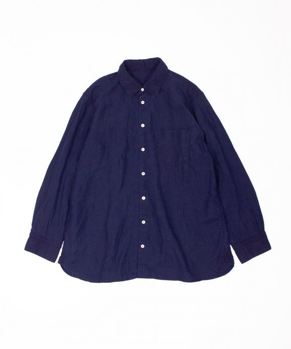 リネンハイカウントレギュラーシャツ limited item