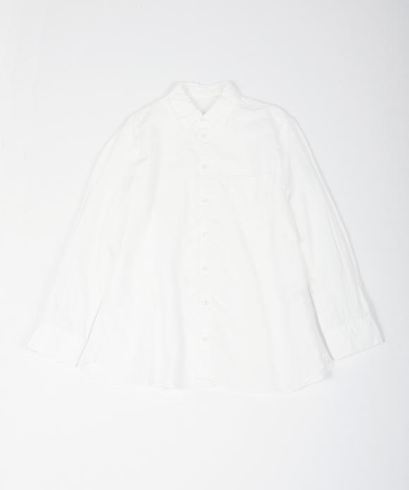 リネンハイカウントレギュラーシャツ