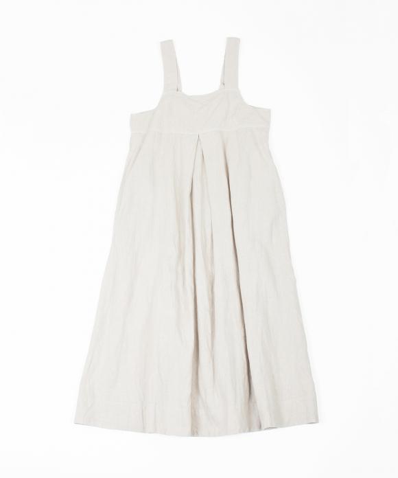 リネンロングキャミドレス