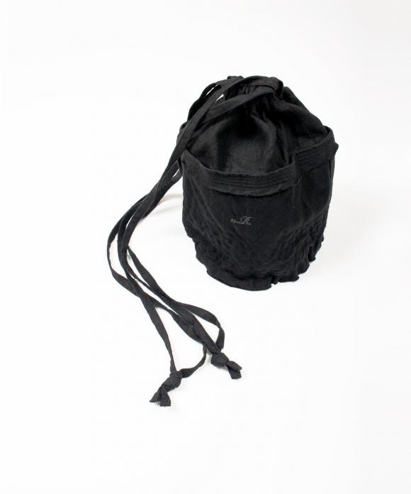 リネンバケツ型巾着BAG