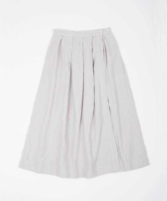リネンタックラップスカート