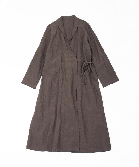 リネンスモーキングコート