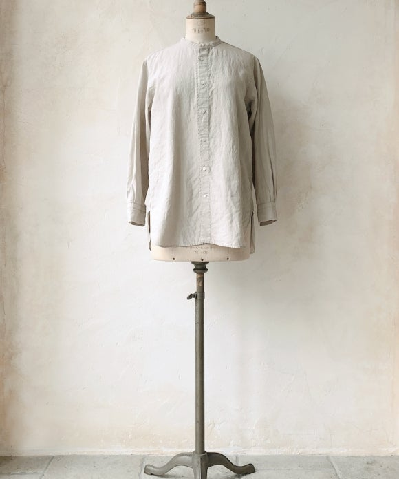 "【""Artisan"" Collection】STAND COLLAR SHIRT"