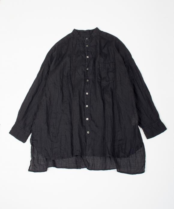 ラミーバンドカラーシャツ