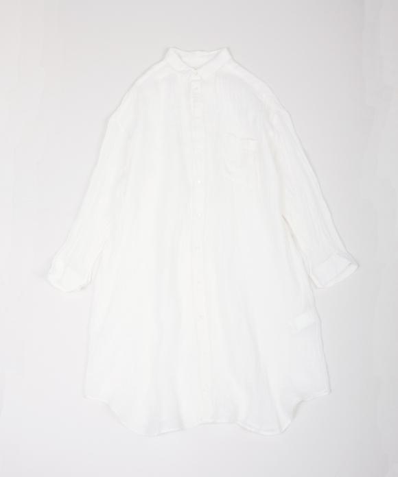 リネンボイルロングシャツ limited item