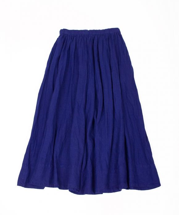 リネン超撥水ギャザースカート  limited item