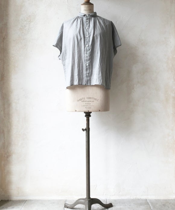 "【""Artisan"" Collection】CRINKLED SHORT SLEEVE SHIRT"