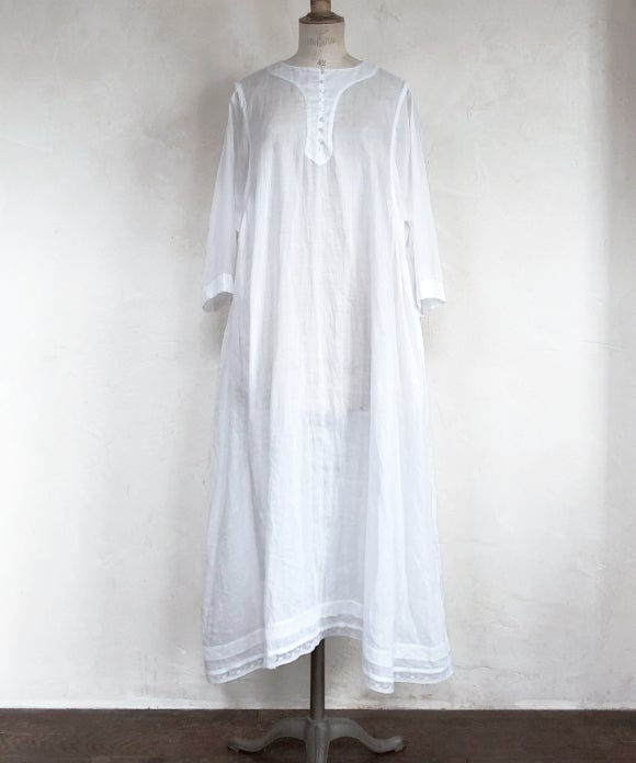 "【""Artisan"" Collection】LACE TRIM KAFTAN DRESS"