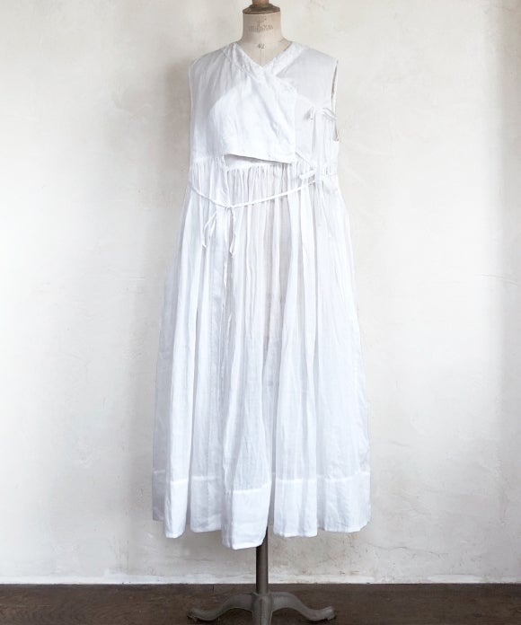 "【""Artisan"" Collection】SLEEVELESS JAMA DRESS"