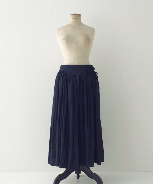 "【""Artisan"" Collection】Air Linen Wrap Skirt"