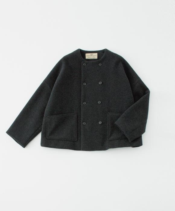 ウールカシミヤダブルブレストジャケット