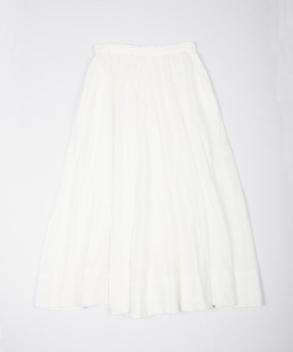 リネンギャザースカート new color