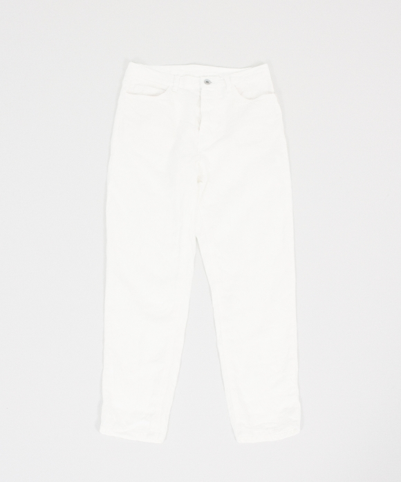 【NY別注】リネンデニム5ポケットパンツ