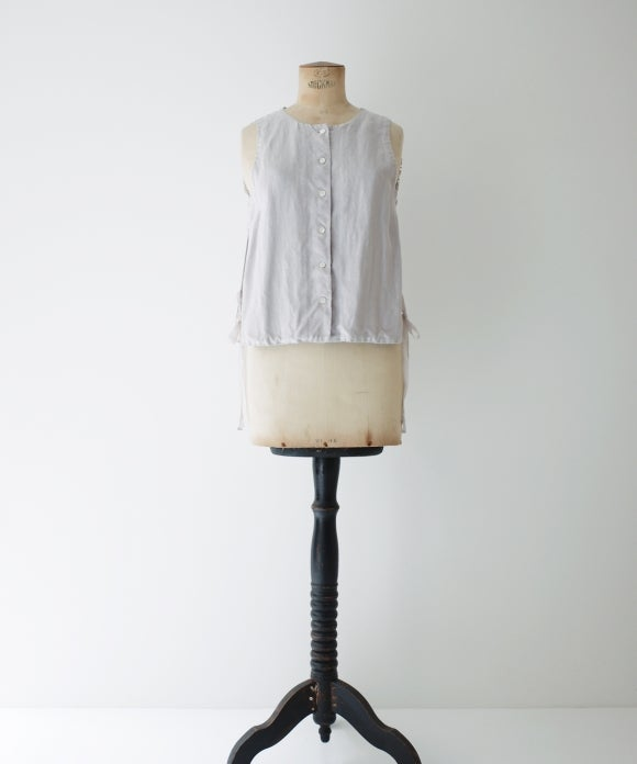 "【""Artisan"" Collection】Frilled Back Vest"