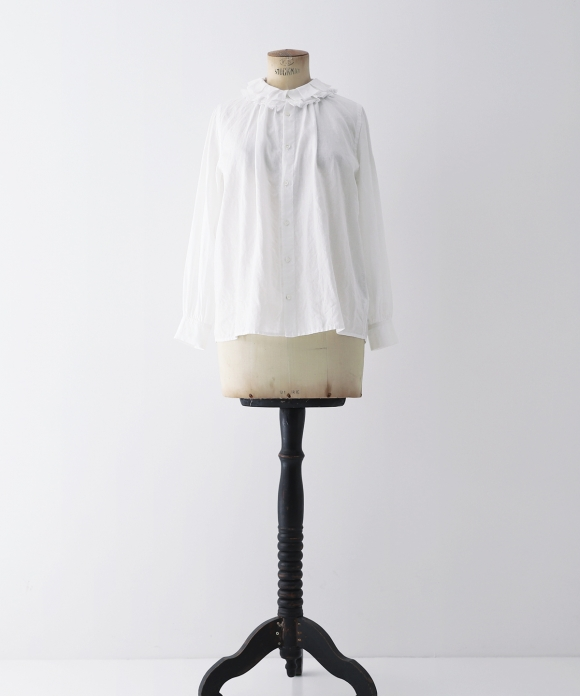 "【""Artisan"" Collection】LINEN RUFFLE SHIRT"