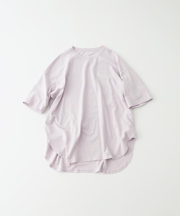 ドライ天竺ラウンドビッグTシャツ