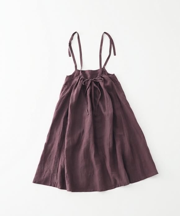 リネングランジ2wayジャンパースカート