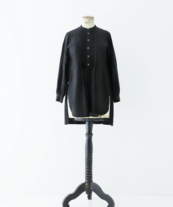 "【""Artisan"" Collection】PINTUCK BOSOM SHIRT"