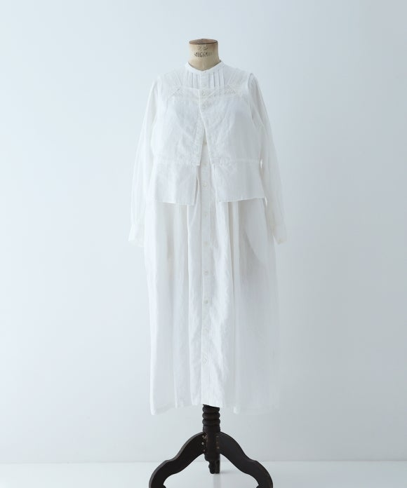 "【""Artisan"" Collection】SHIRT DRESS VEST SET"