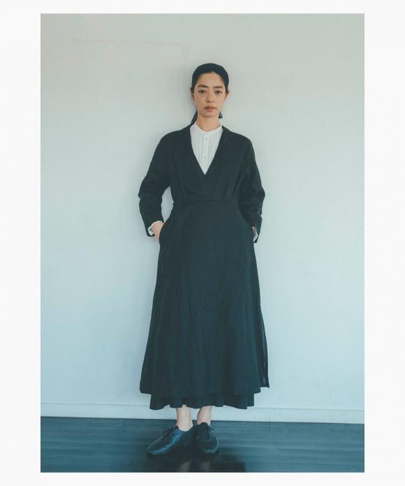 【市川実和子さん別注】ブラックドレス
