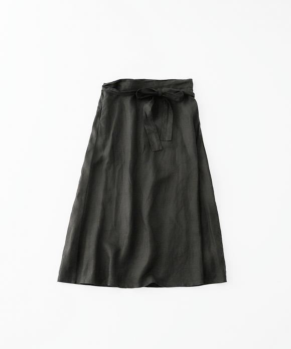 【市川実和子さん別注】ブラックサロンスカート