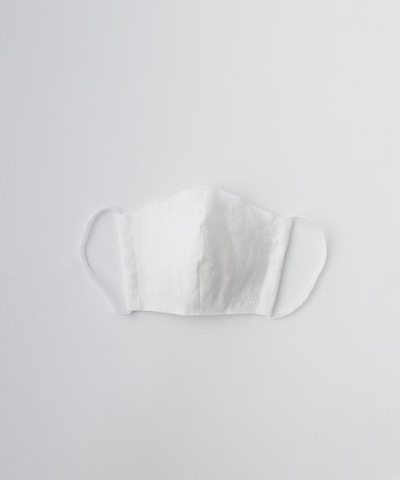 【サイズM】リネン抗菌マスク オフシロ