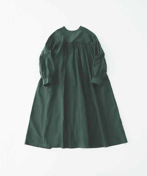 シルクコットンフリルヨークドレス limited color