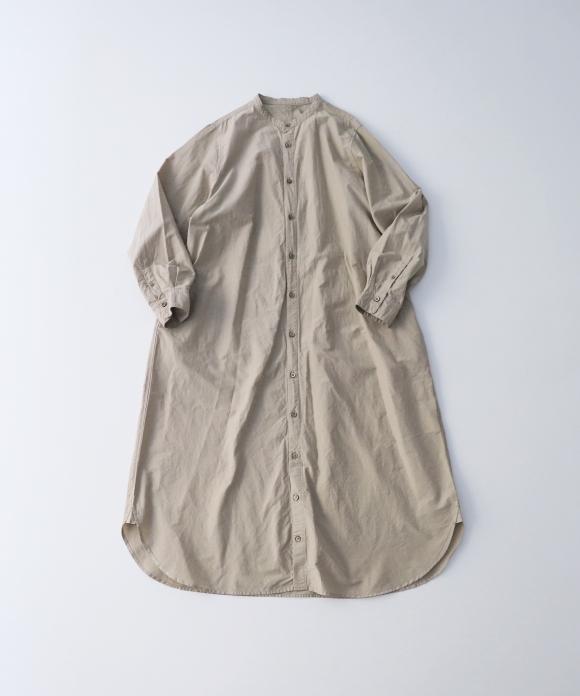 シルクコットンロングシャツ limited color