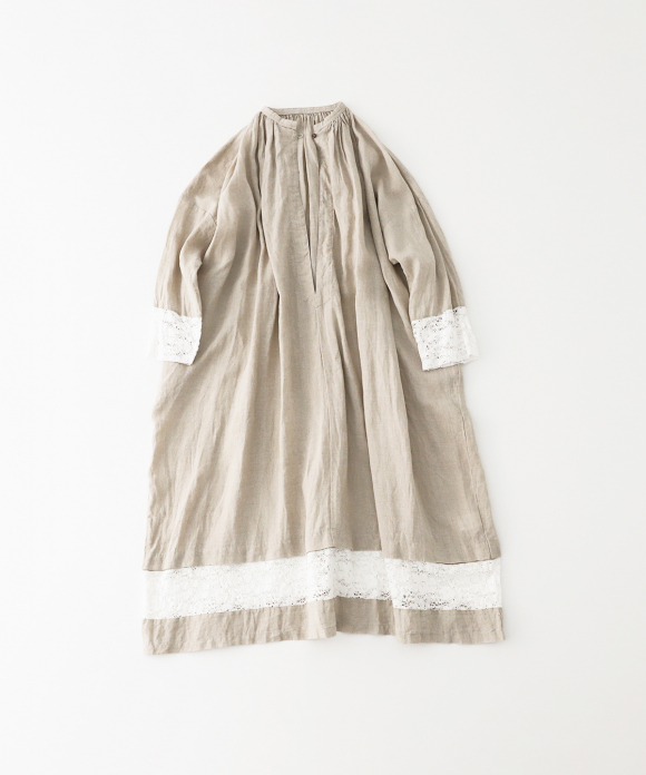 リネンチャーチドレス