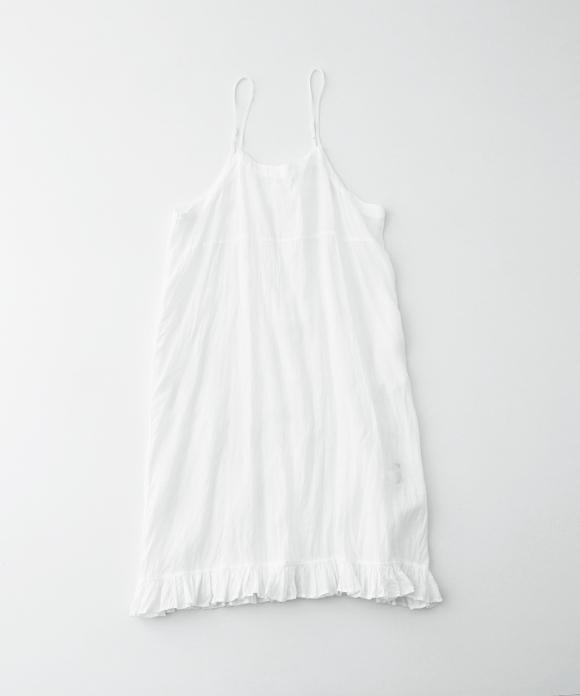 リネンナイトキャミドレス
