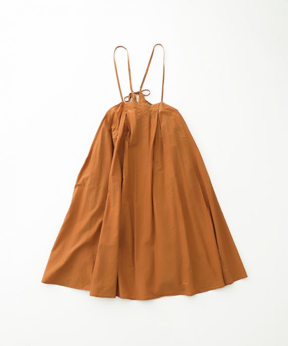 シルクコットン ジャンパースカート
