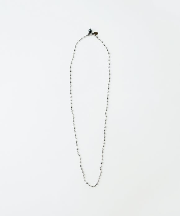 【mikia】ヘマタイトnecklace