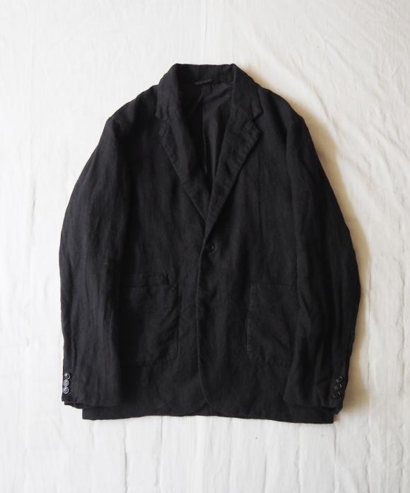 Brushed Linen Tailored Jacket