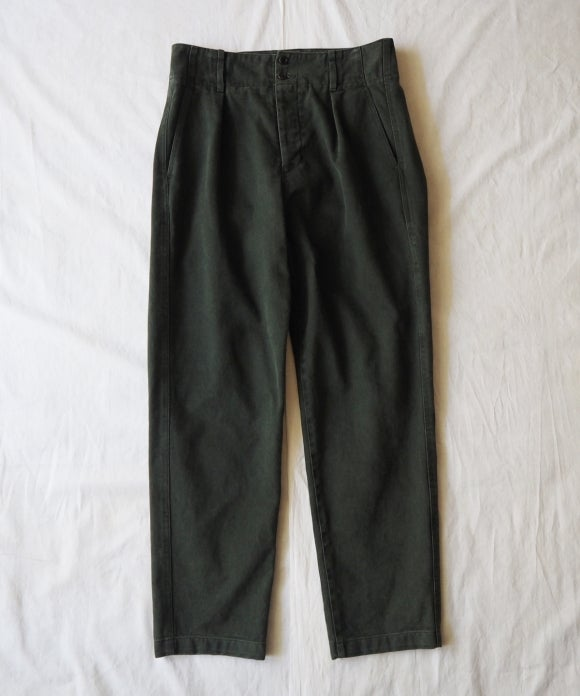 Brushed Cotton Twill Fatigue Pants