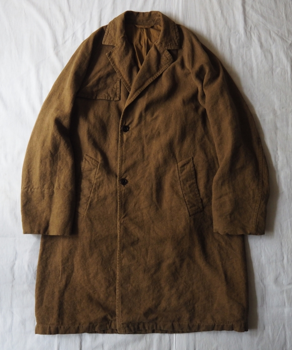 Heavy Linen Ulster Coat