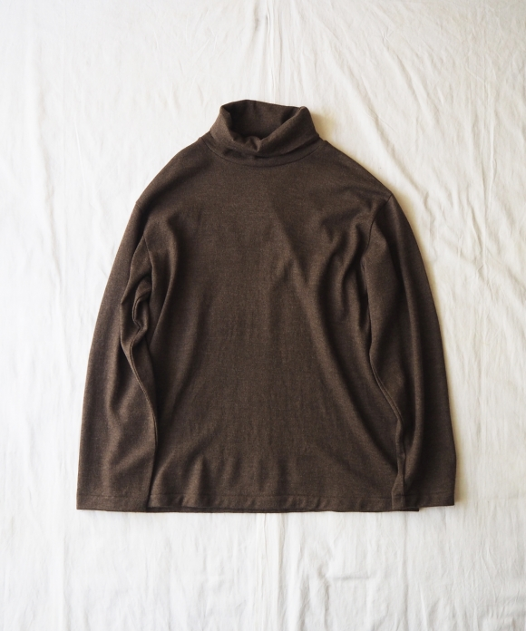 Washable Wool Turtle Neck Pullover