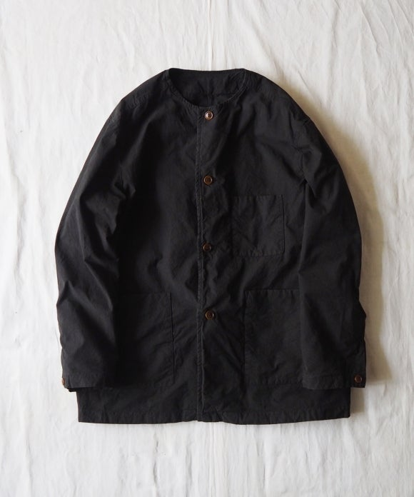 Supima Cotton No-Collar Jacket