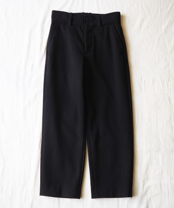 Wool Pile Melton Trousers