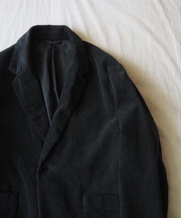 Over Dyed Corduroy Tailored Jacket