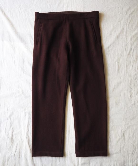 Wool Pile Easy Pants