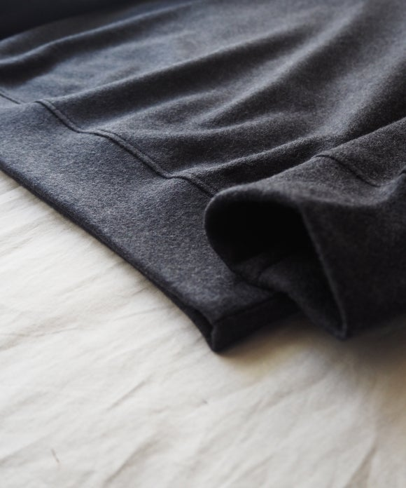 Wool Smooth Crew Neck Pullover