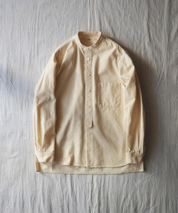 強撚ウエポンバンドカラーシャツ