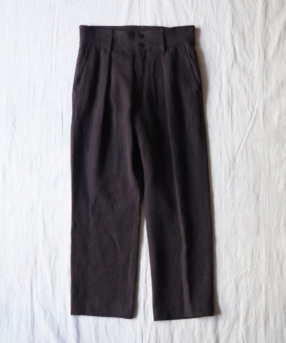 Linen Canvas WWB Trousers
