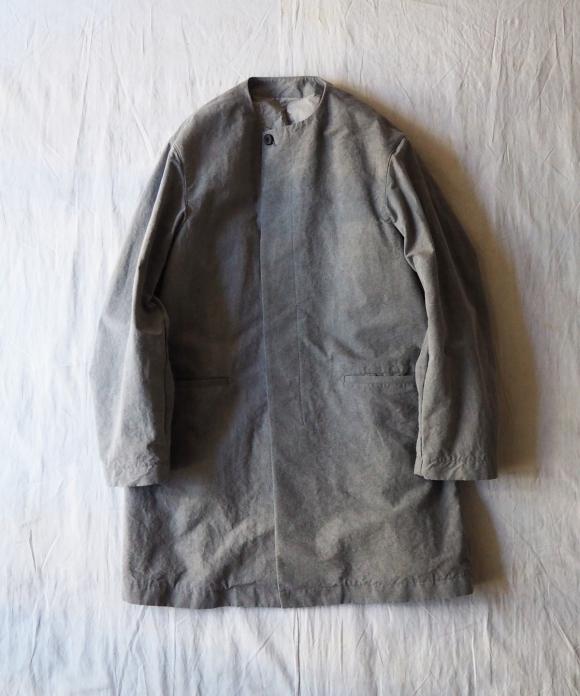 和紙グログランスモックコート