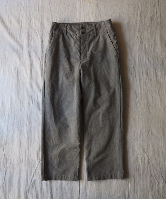 Paper Grosgrain Baggy Pants