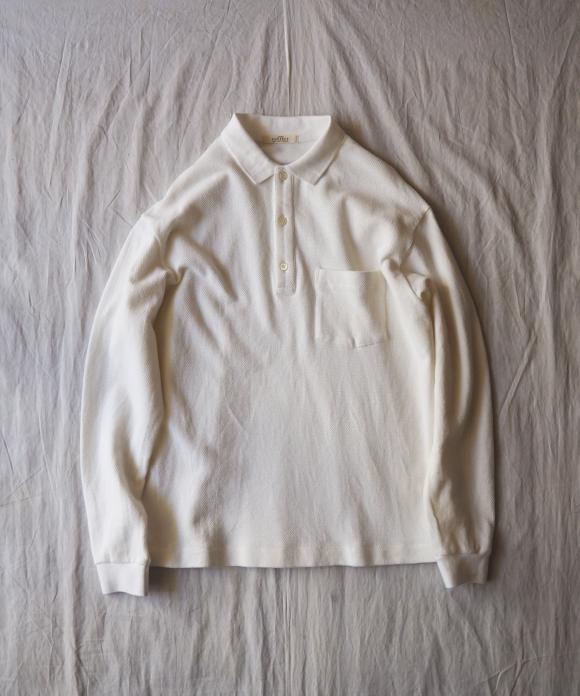 鹿の子ビッグポロシャツ