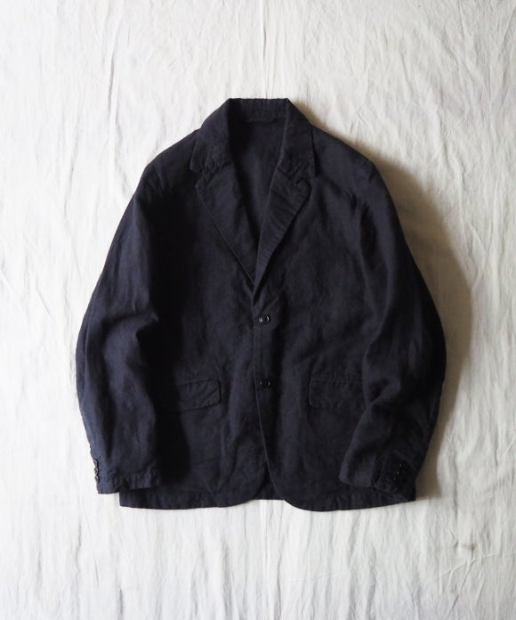Interlining Linen Tailored Jacket