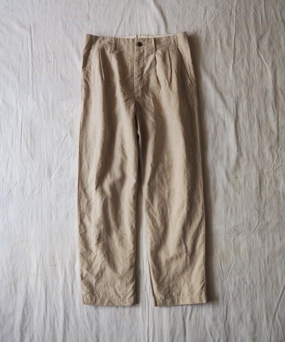High Count Linen Trousers