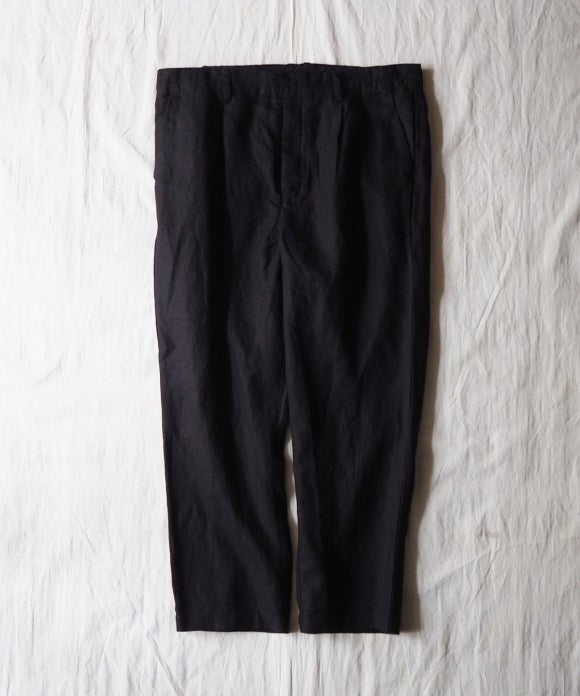 Piece Dyed Linen Easy Pants